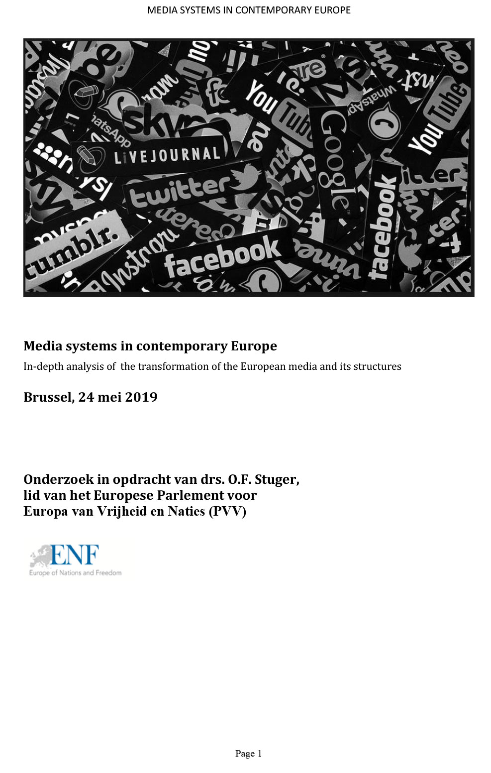 Media systems in contemporary Europe